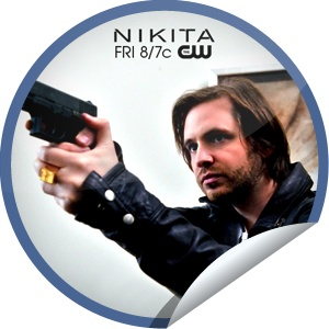 Nikita Season 2 Finale Countdown: 2 Days...Remember Birkoff's brave face-off for Nikita? Keep checking-in on GetGlue.com for your finale countdown stickers!