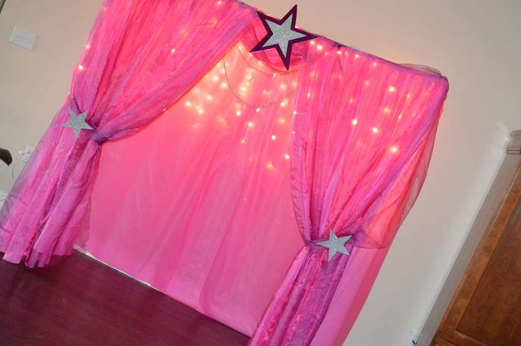 Stage Backdrop, Pop Star Birthday Birthday Party Ideas | Photo 4 of 33 | Catch My Party