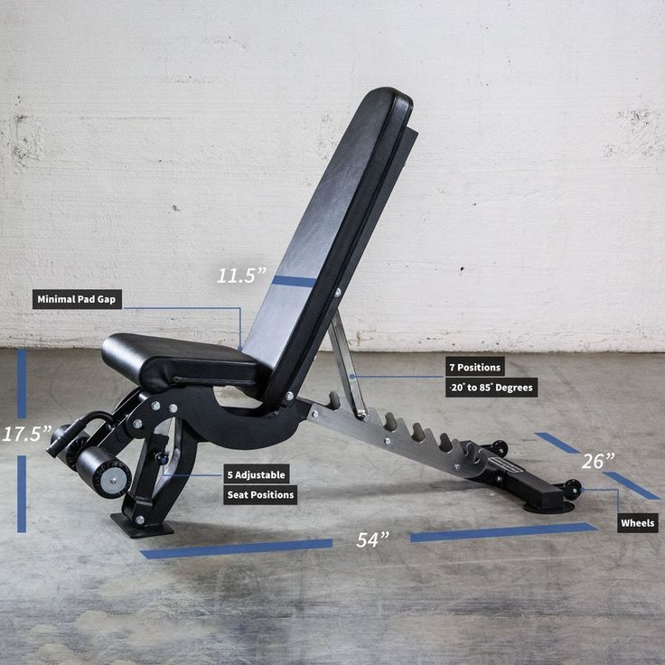 Rep adjustable bench ab3000 fid 1 000