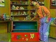 Mr.Dressup & the tickle trunk! YES