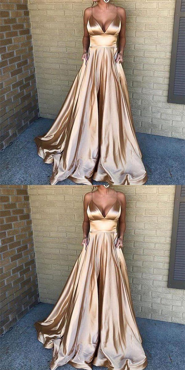 Spaghetti Straps Simple Cheap Prom Dress, fashion A-line prom gown , PD0900 Spaghetti Straps Simple Cheap Prom Dress, fashion A-line prom gown , PD0900