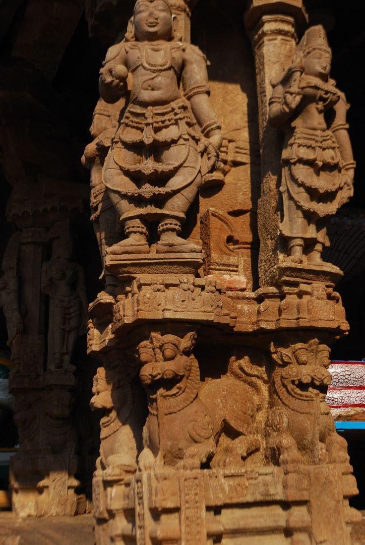 The carvings of the Vontimatta, Kodanda Rama Swamy temple near Kadapa.