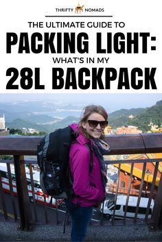 The Ultimate Guide to Packing Light: What's in my 28 Litre Backpack (Women's Edition)