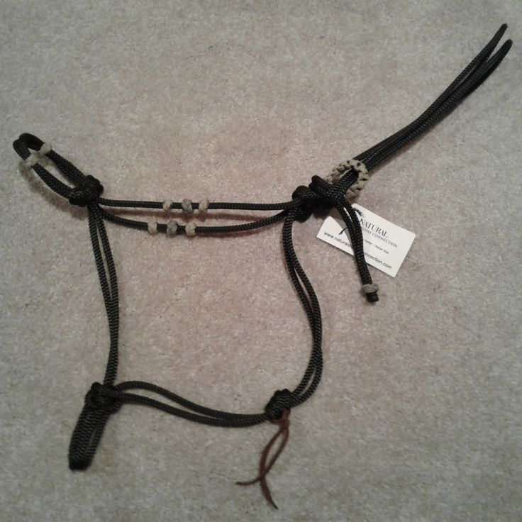 Custom Rope Halters by Natural Equine Connection