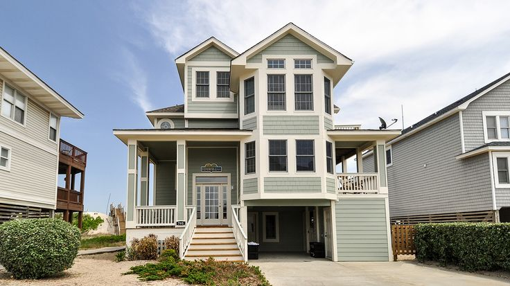 Summer Love - H105 is an Outer Banks Oceanfront vacation rental in Crown Point Corolla NC that features 5 bedrooms and 5 Full 1 Half bathrooms. This rental has a private pool, wifi, and a hot tub among many other amenities. Click here for more.