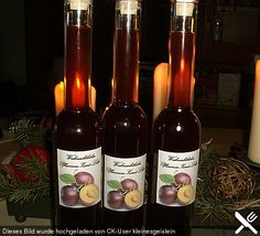 Selbst gemachter weihnachtlicher Pflaumen - Zimt - Likör, ein sehr leckeres Rezept aus der Kategorie Likör. Bewertungen: 10. Durchschnitt: Ø 4,3.