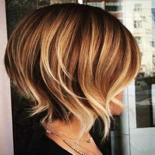 Highlights for Short Hair