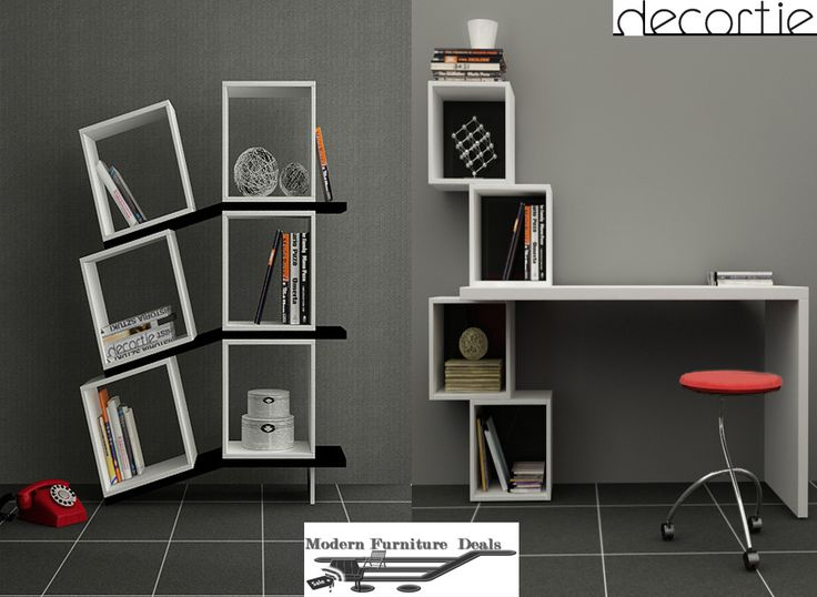 Modern Furniture Deals Decortie Balance Bookcase Balance
