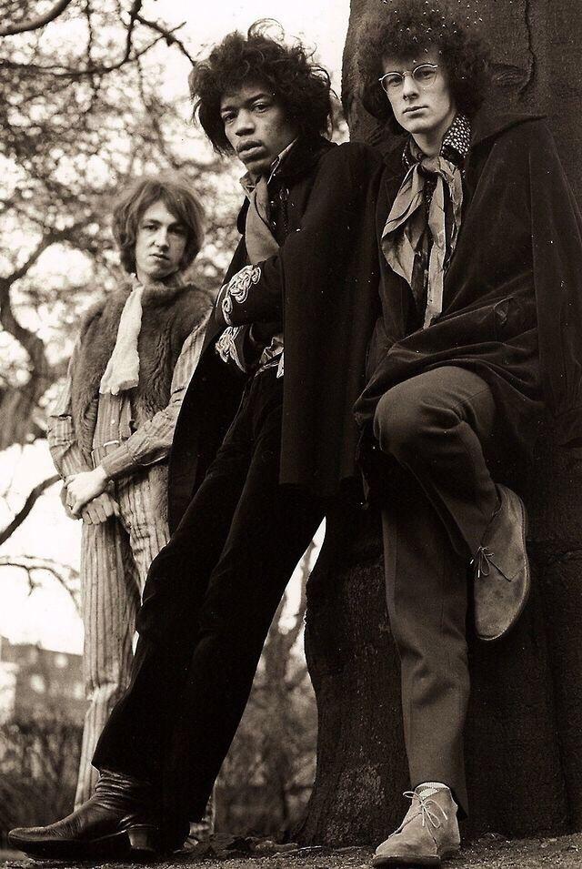 The Jimi Hendrix Experience...Mitch, Jimi, Noel