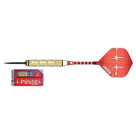 Jeux de 3 fléchettes pointes métal pulse - 14,00 €  #Jeux #Flechettes