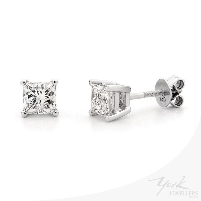 Beautiful Diamond Earrings by York Jewellers