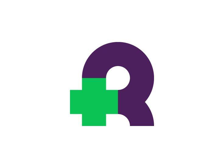 R medical logo by Vadim Carazan