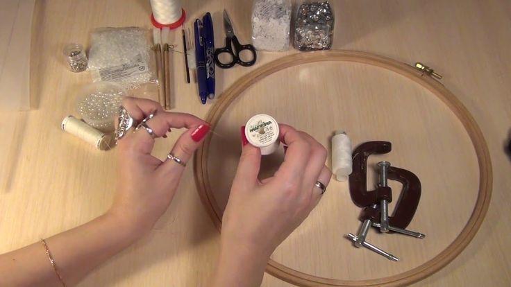 Материалы для курса по тамбурной вышивке ( вышивка люневильским крючком,...