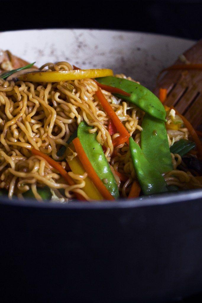 Sauteed Teriyaki noodles   – One pot wonders