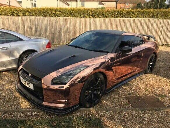 Nice Rose Gold And Black Nissan GTR... Cars X) Check More At Amazing Design
