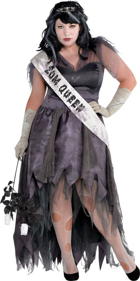 homecoming corpse costume look dropdead gorgeous in this zombie prom queen