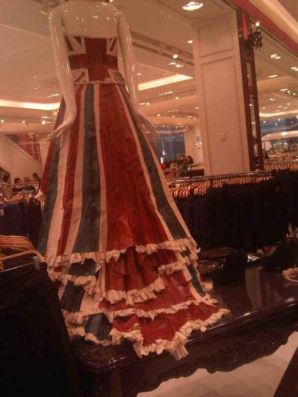 union jack amazing dress