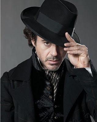 Robert Downey Jr.  #sombrero #hat #elegante #sherlock #holmes #actor #película #pingletonhats  http://www.pingletonhats.com/es/