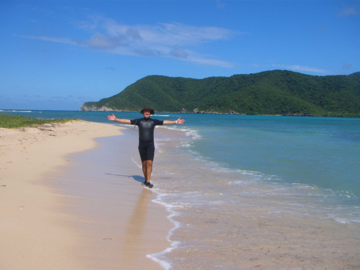 What a freedom! Parque Tayrona #travel #colombia  www.uniquecolombia.com