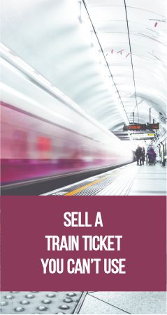 Did you know that most advance train tickets are non-refundable? So, what to do when you can no longer use your train ticket? Can I really sell my train ticket to anyone? How do I sell my train ticket? What should I include in my ad for my unwanted train ticket? Will I make all my money back on my unwanted train ticket?