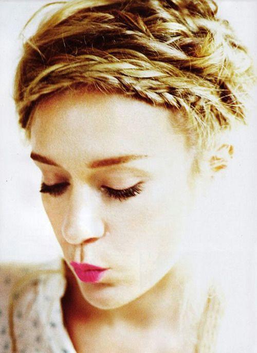 pretty hair<3Chloe Sevigny, Hairstyles, Long Hair, Beautiful, Pink Lips, Messy Braids, Hair Style, Updo, Braids Hair