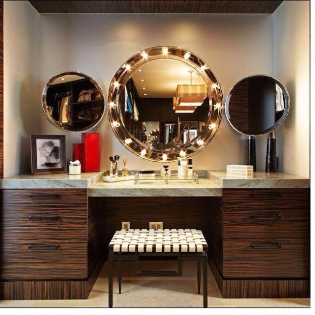 13 Fun DIY Makeup Organizer Ideas For Proper Storage. Makeup TablesVanity  ...