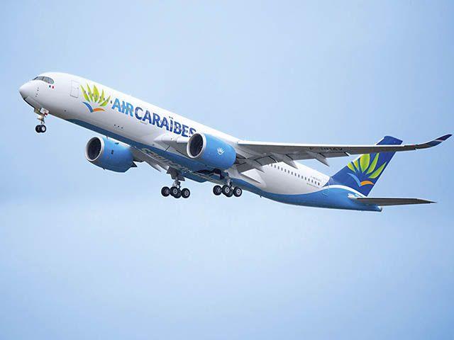 Vidéo : livraison à Air Caraïbes de son premier Airbus A350-900