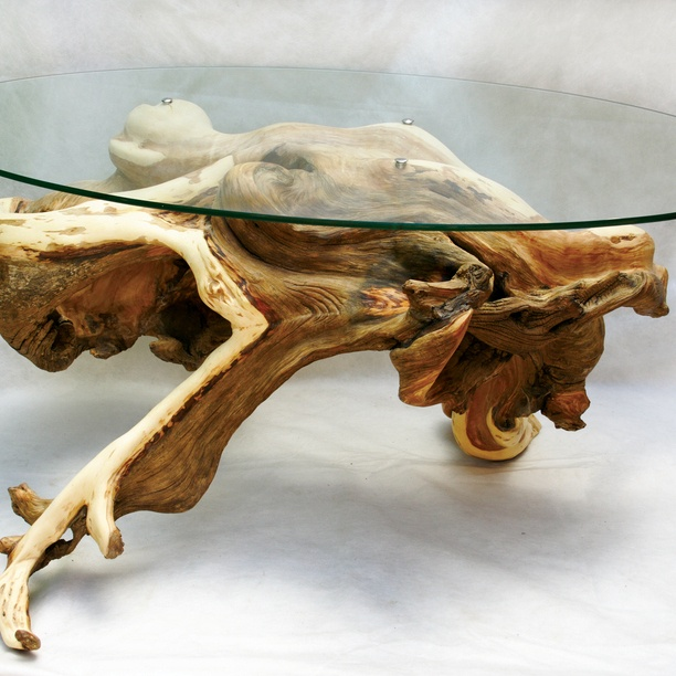 Driftwood coffee table...' | Cool Things | Pinterest ...