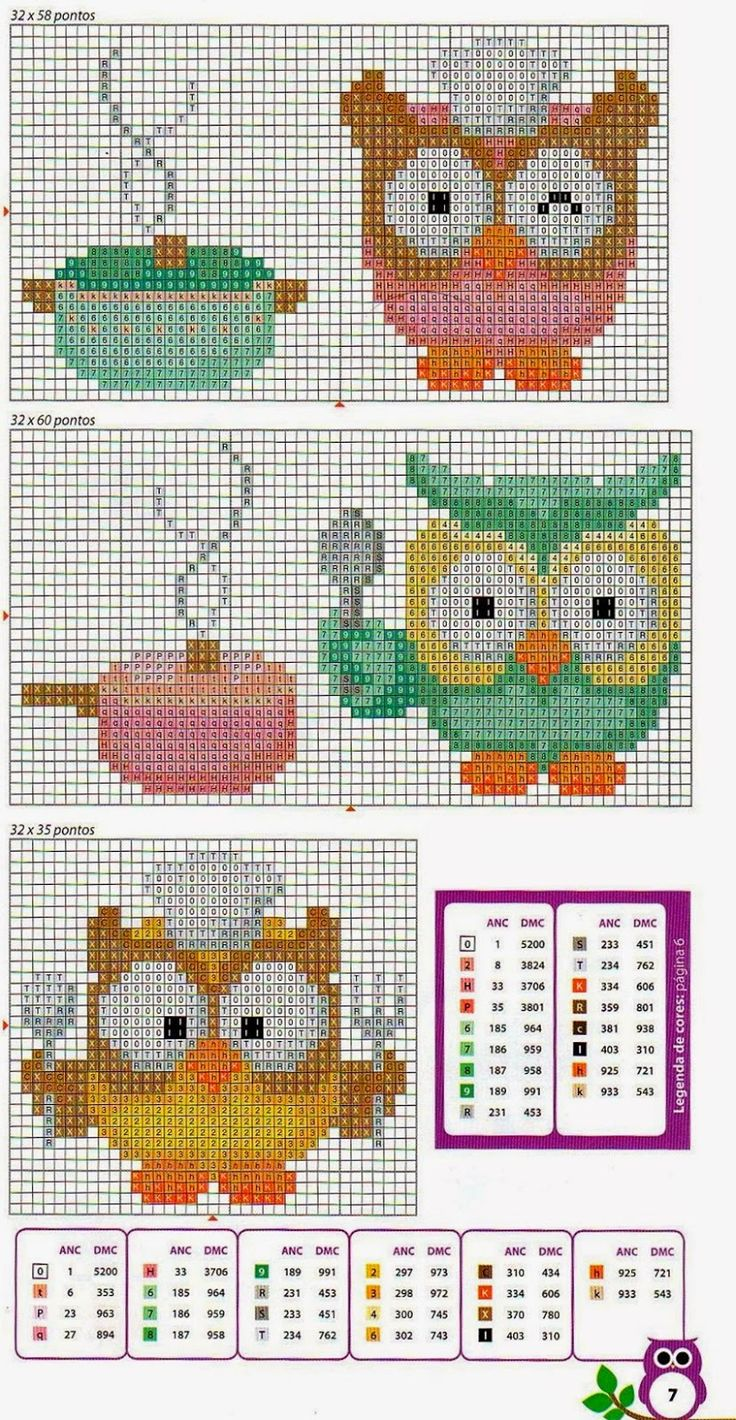 kallana-ponto-cruz-cross-stitch-coruja-2.jpg 829×1,600 pixels