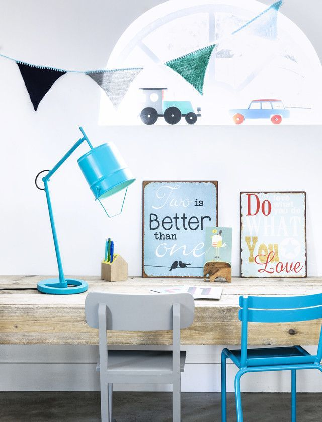 mommo design: RECYCLING IDEAS - Paint can desk lamp