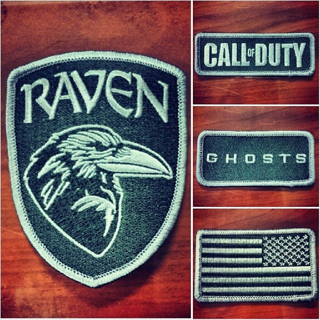Perhaps you've heard of the Call of Duty series? We recently made patches for Raven Software, one of the developers who worked on CoD: Ghosts!   Note: these patches are NOT for sale, they were made for Raven Software employees only!