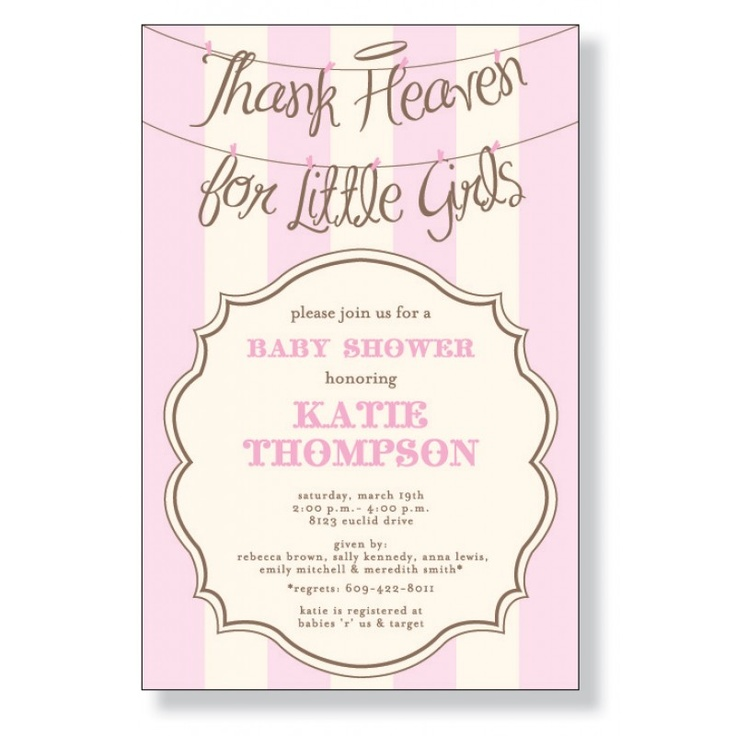 73 best Z- Angel Girl Baby Shower images on Pinterest | Candy ...