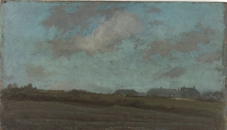 Note in Blue and Opal - The Sun Cloud by James Whistler