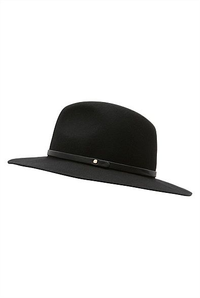 Disc Trim Fedora | Leather and Suede Care Guide