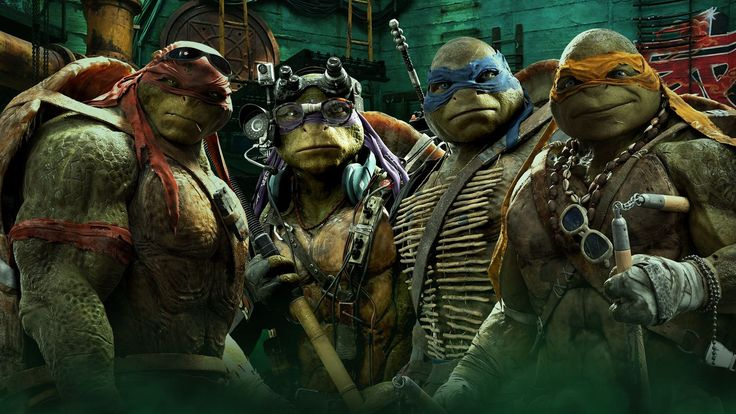 teenage mutant ninja turtles movie 2 HD Background