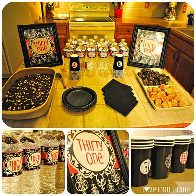 Thirty-One Party.. I may need a 41 party this year ladies but not with water...