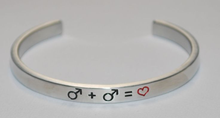 Male Gay Symbols |:| Handmade & Polished Bracelet