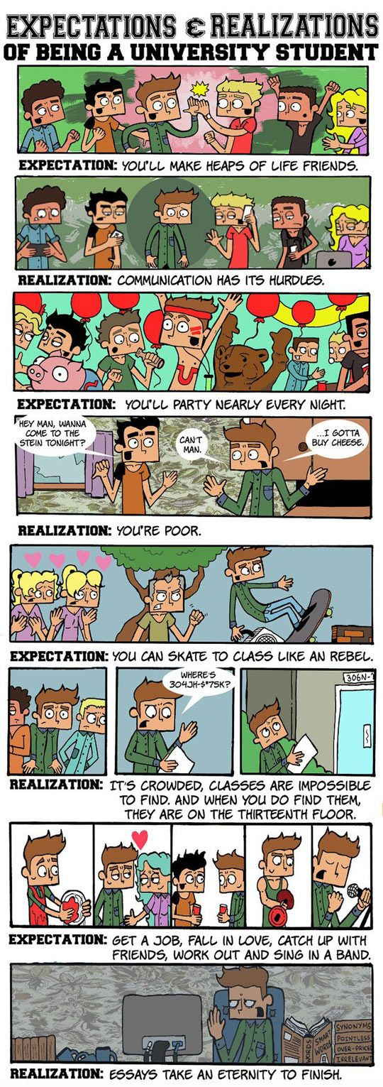 best images about student life days in my as a real college kid i can say the first one is true the