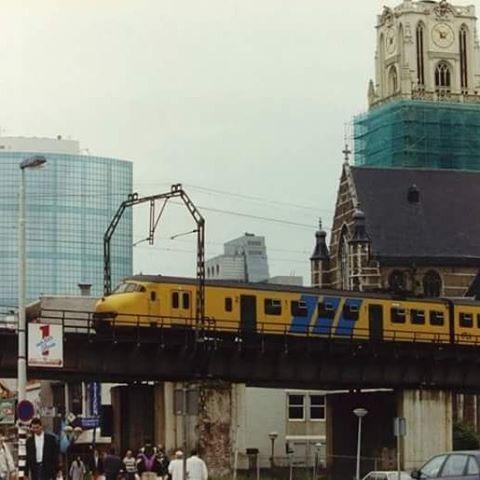 ¿Rotterdam - Het luchtspoor vlak voor de sluiting, 2 september 1993. archief van het ANP