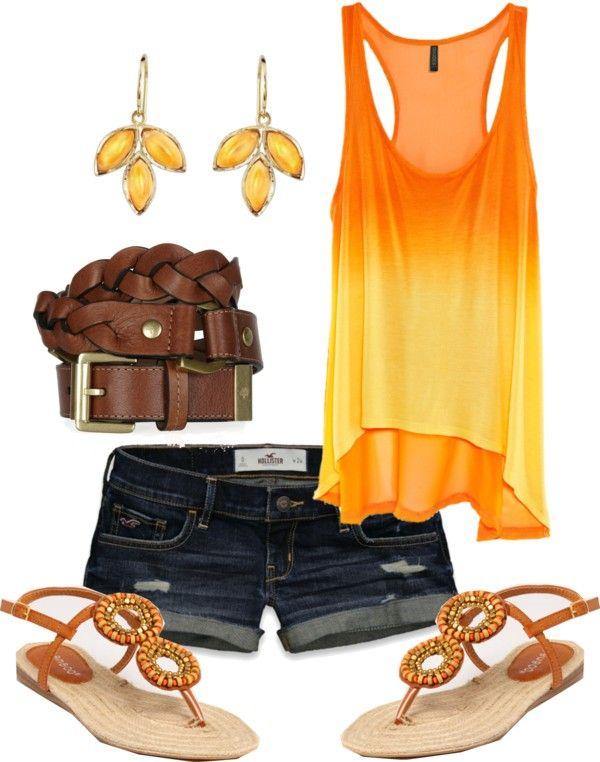 Wayy cute for summer. OMG! I love everything about this outfit.. and I neeeed that top and those ear rings!!