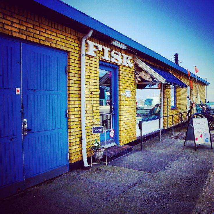 Fischladen in Rønne, Bornholm #Fisch #Fisk #Laden #Shop #Roenne #Bornholm