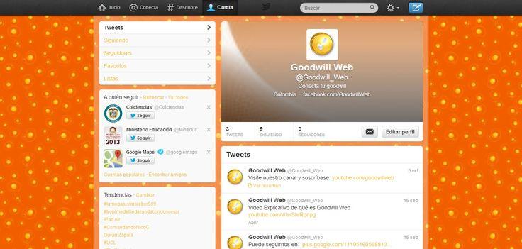 Twitter Goodwill Web
