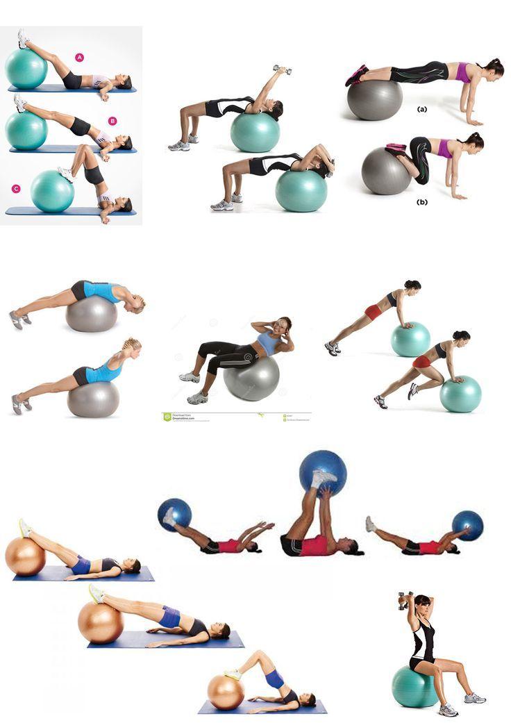 ball exercises #pilatespelota