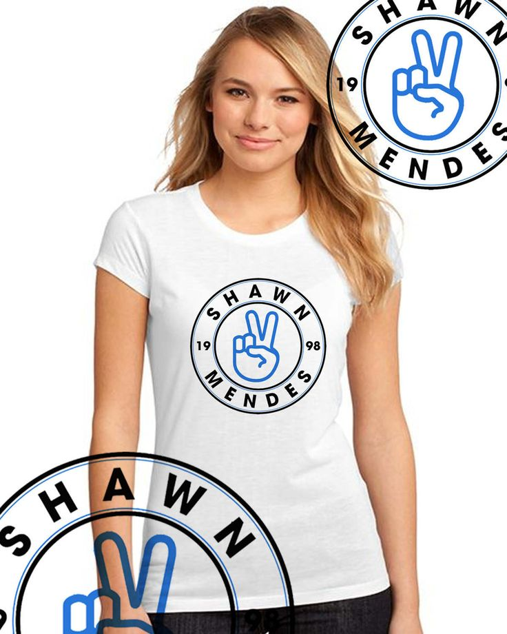 Shawn Mendes t- SHIRT black / white  stitches Cameron Dallas Teen OUTFIT MENDES 98 di DaiquisCraftRoom su Etsy