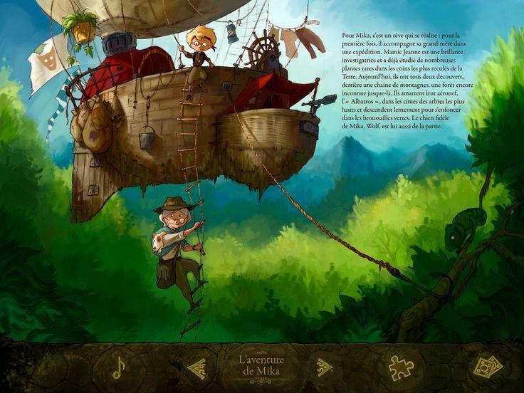 Livre interactif: Laventure de Mika http://www.app-enfant.fr/livre-interactif-l-aventure-de-mika/#