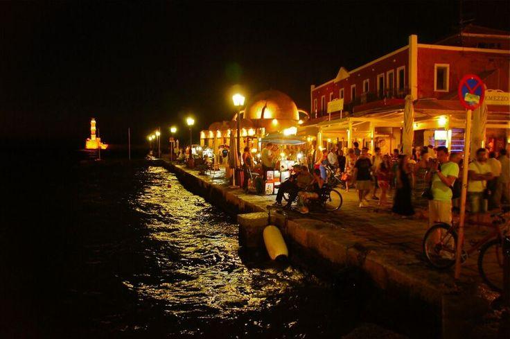 #Chania by night