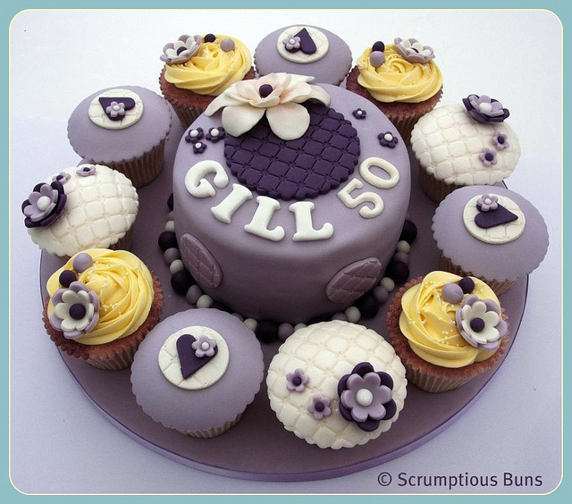 17 best Eunices 50th images on Pinterest 50th birthday cakes