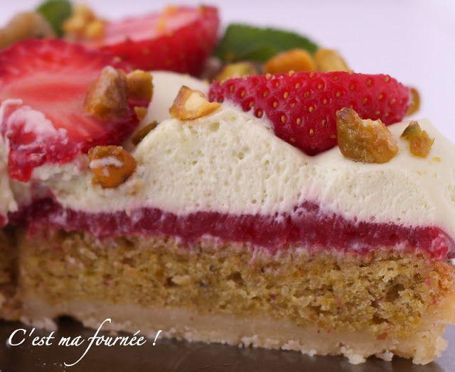 C'est ma fournée !: Le Fantastik fraise pistache de Michalak