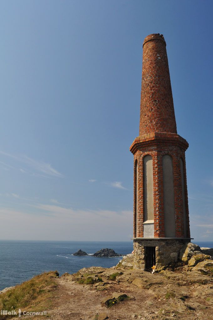 The Heinz monument on Cape Cornwall