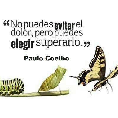 Frase de Paulo Coelho. #frases #coaching #superación